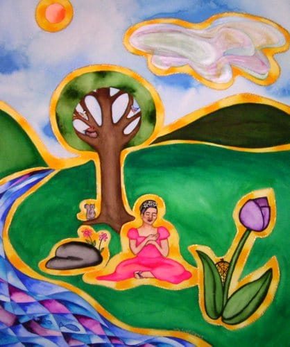 Breathe in the Life Force of Nature by Rita Loyd Unconditional Self-Love
