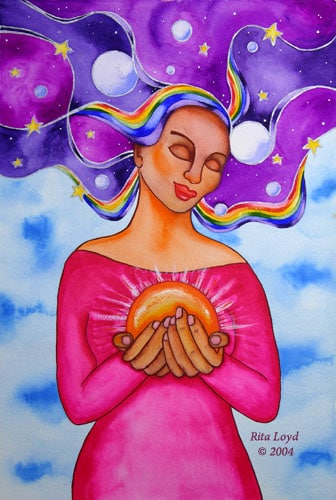 Self Love Art by Rita Loyd