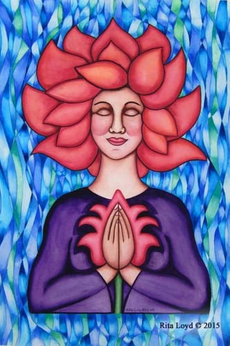 Lotus Woman by Rita Loyd Unconditional Self-Love