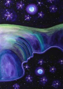 Nurturing Art greeting card - Reflection of God