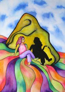 Nurturing Art greeting card - Take Time To Listen