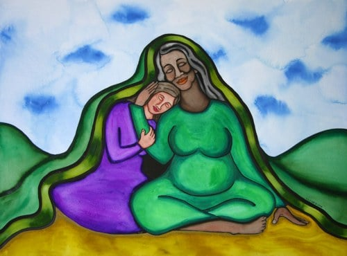 Comfort from Mother Earth by Rita Loyd Unconditional Self-Love