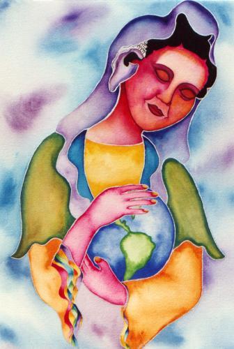 Nurturing Art original paintings
