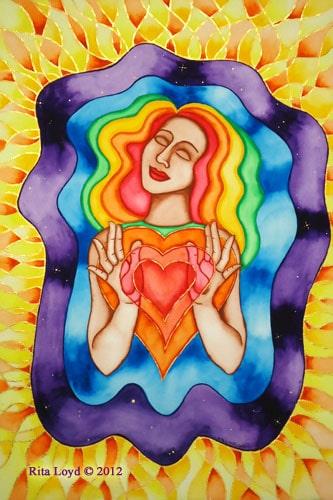 Expanding Love by Rita Loyd Unconditional Self-Love