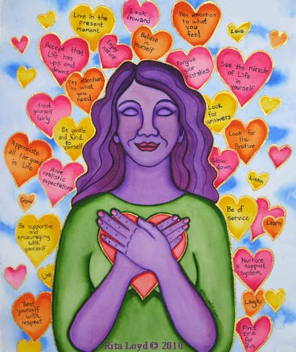 Expressions of Self Love by Rita Loyd Unconditional Self-Love