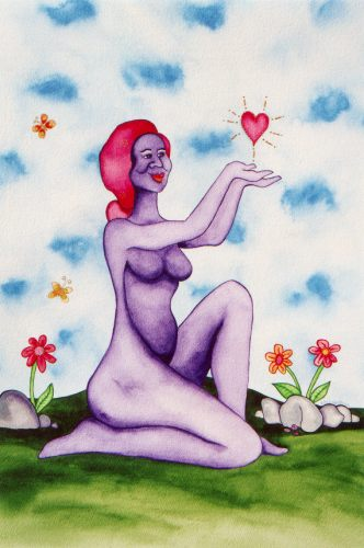 Give Love by Rita Loyd Unconditional Self-Love
