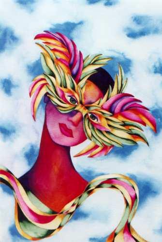 Mask by Rita Loyd Unconditional Self-Love