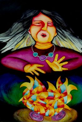 Singing Woman by Rita Loyd Unconditional Self-Love