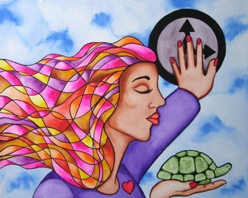 Slow Down by Rita Loyd Unconditional Self-Love