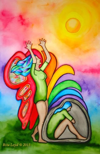 Transformation by Rita Loyd Unconditional Self-Love
