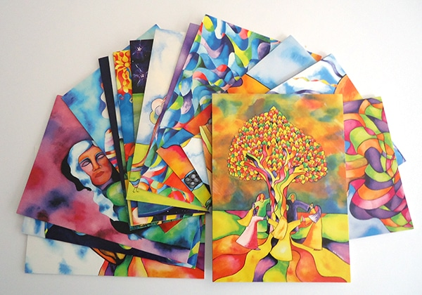 Nurturing Art getting card pack product image