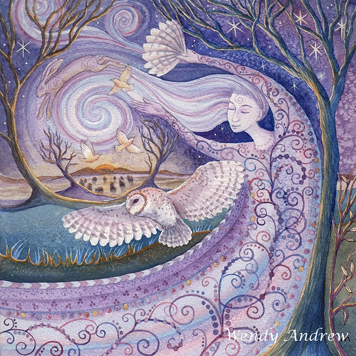 Winter Wind Mother by Wendy Andrew